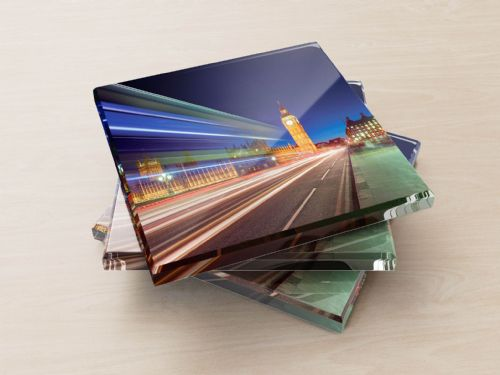 Big Ben and The Houses of Parliament - Glass Coasters